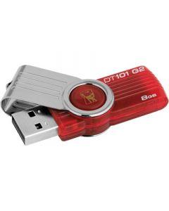 Kingston DataTraveler 101 USB-tikku, 8 Gt, USB 2.0
