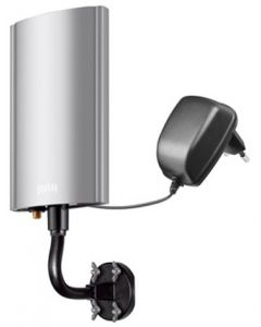 Goobay DOA-50 PS aktiivinen ulkoantenni FM/VHF/UHF DVB-T/T2, 20dB