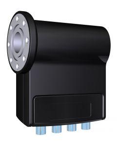 Inverto Pro Quad Universal LNB mikropää, 0,2 dB, C120 laippakiinnitys