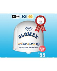 Glomex IT1004PLUS weBBoat 4G Plus 3G/4G/LTE/WiFi-antenni, modeemi & reititin, dual SIM