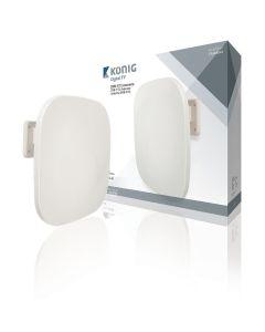 König KNANOR5004B aktiivinen ulkoantenni FM/VHF/UHF DVB-T/T2, 52 dB, LTE700 & LTE800 suojattu