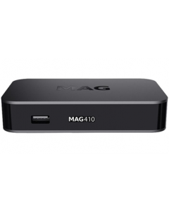 Infomir MAG410 IPTV-digiboksi, ei kanavia - asiakaspalautus