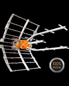 Televés 148925 Ellipse DVB-T/T2 antenni vahvistimella, 38dB, LTE700 & LTE800 suojattu
