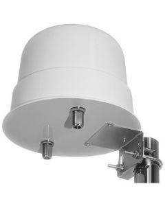 3G/4G/LTE/GSM MIMO ristipolarisaatio ympärisäteilevä antenni, 900-2600 MHz, 2 x 15 dBi, 2 ulostuloa