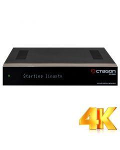 Octagon SF4008 UHD-digiboksi, 2-3 viritintä