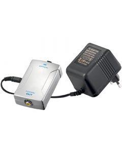 Sovitin digitaaliselle äänelle, optinen Toslink > koaksiaali RCA, aktiivinen
