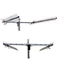 CSG Networks Twin Peak Pro sarja: 2 x 18 dBi, 698-960 MHz