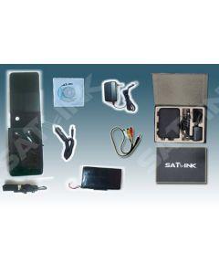 """Satlink WS-6906 Satellite Finder, DVB-S viritin, 3,5"""" LCD-näyttö, DiSEqC 1.0 - Asiakaspalautuskappale"""