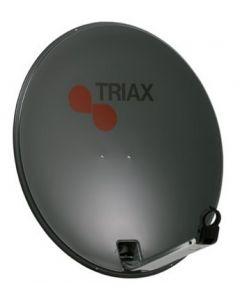 Triax TD 64 DL satelliittiantenni, tummanharmaa