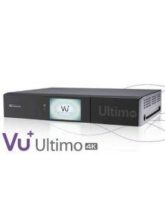 Vu+ Ultimo 4K, UHD antennidigiboksi, 4 x T2, kiintolevy + SatShop.fi ohjelmisto asennettuna