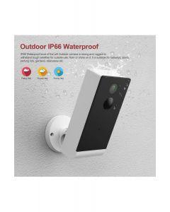 Woox Smart IP-kamera, WiFi, 1080p, ulkokäyttöön, IP65/IP66, 2 x 2800 mAh
