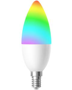 Woox LED-älylamppu, WiFi-ohjattava, RGBW, E14, 4.5W