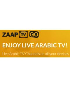ZaapTV Go katseluaika, 2 vuotta - ei palautusoikeutta