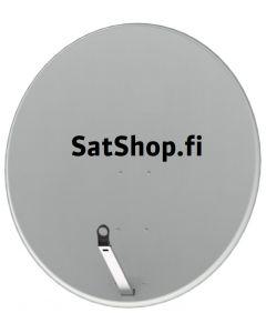 SatShop.fi satelliittiantenni 120 cm, Easy-fix arm, vaaleanharmaa