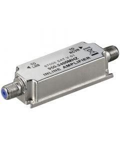 Satelliittisignaalin vahvistin, 950-2400 MHz, 20 dB