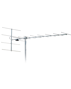 VHF antenni, band III, 170-240 MHz, 10-12 dB, 13 elementtiä