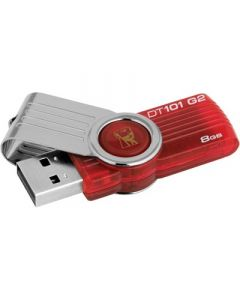Kingston DataTraveler 101 USB-tikku, 8 Gt, USB 2.0