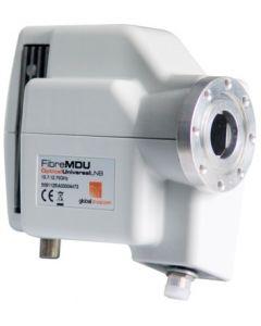 Invacom FibreMDU mikropää & virtalähde, optinen lähtö, C120 laippakiinnitys
