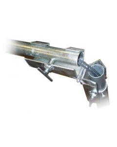 Maston asennussarana, galvanoitua terästä, 38-50 mm mastolle