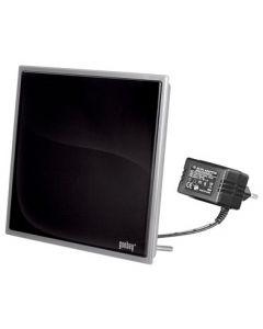 Goobay DIA 90 PS Flat Active Indoor Antenna DAB/VHF/UHF DVB-T/T2, 30dB