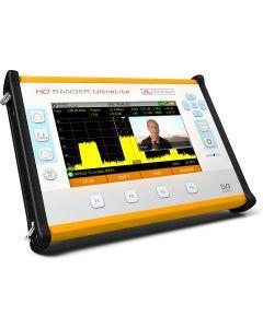 Promax HD Ranger UltraLite DVB-S2/C2/T2 satelliitti-, antenni- ja kaapelimittari & spektrianalysaattori - ei palautusoikeutta.