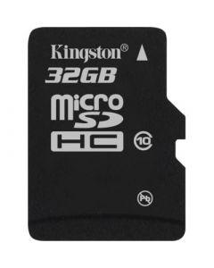 Kingston SDC10G2/32GB muistikortti, microSDHC, 32 Gt, micro Secure Digital High-Capacity, Class 10