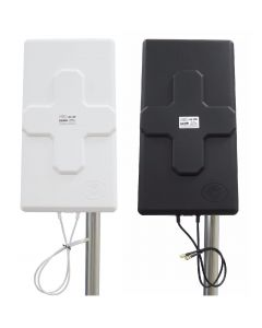 Theta 3G/4G/LTE MIMO ristipolarisaatio paneeliantenni, 700-2700 MHz, 2 x 26 dBi, 2 ulostuloa
