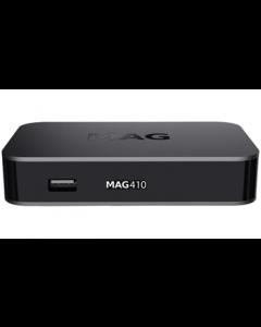 Infomir MAG410 IPTV-digiboksi, ei kanavia - asiakaspalautuskappale
