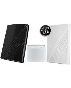 3G/4G/LTE-paketti lähes kaikkialle: Huawei B315s modeemi + 800-2600 MHz paneeliantennit