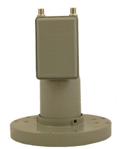 PR200C C-Band Twin 13K Dual polarization LNB, scalar ring included