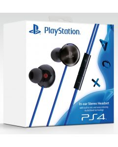 Sony In-Ear Stereo Headset PS4 & PS4 Pro varten