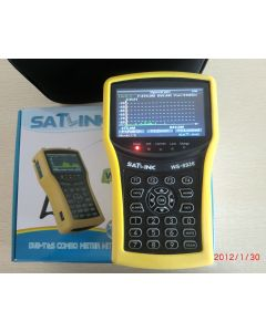 """Satlink WS-6932 HD satelliittimittari & spektrianalysaattori, DVB-S2 viritin, 4,3"""" LCD-näyttö, DiSEqC 1.2"""
