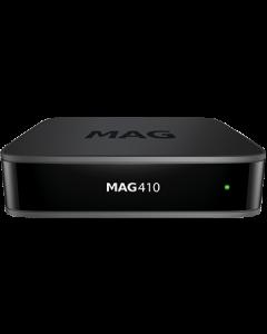 Infomir MAG410 IPTV-digiboksi, ei kanavia