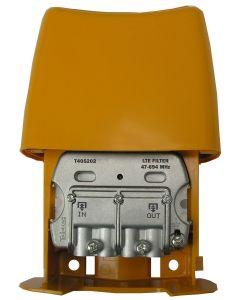 Televés 405202 LTE suodatin DVB-T/T2 signaaleille, 47-694 MHz, LTE700 & LTE800 suojaukseen, passiivinen