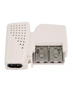 Televés T5796 virtalähde antennivahvistimille, 12 V, 220 mA, 1 ulostulo, 5-2400 MHz