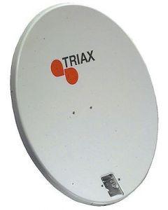 Triax TD 110 DL satelliittilautanen, ilman tarvikkeita, vaaleanharmaa