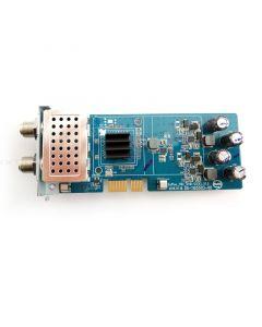 Vu+ viritin FBC Dual (tuplaviritin) 2 x DVB-S2X (satelliitti) Vu+ Uno 4K & Ultimo 4K varten (8 x Unicable-mikropään kanssa)